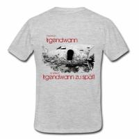 """T-Shirt mit Aufdruck """"Mache ich Irgendwann ist vielleicht Irgendwann zu spät"""""""