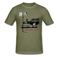 """T-Shirt mit """"Liebe deine Stadt"""" Aufdruck"""