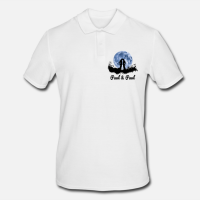 """Personalisiertes Polo-Shirt mit dem Aufdruck """"Mondliebe"""""""