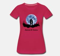 """Personalisiertes T-Shirt mit dem Aufdruck """"Mondliebe"""""""