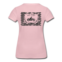 "Shirt mit dem Biker Motive ""Fill here"""