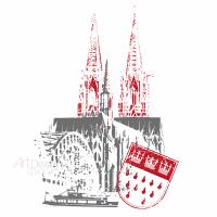 """Motiv """"Köln"""" für T-Shirts und vieles mehr"""