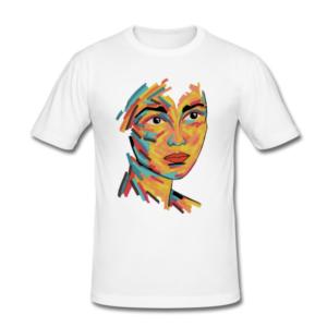 """T-Shirt mit Motiv """"Juliet's face"""""""