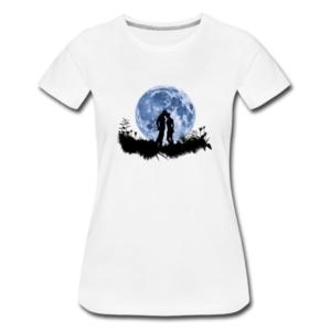 """Shirt mit Motiv """"Mondliebe"""""""