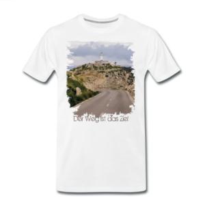 """T-Shirt mit Motiv """"Der Weg"""""""